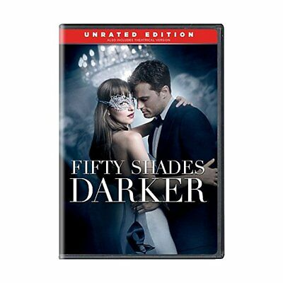 Fifty Shades Darker - Unrated Edition,Very Good DVD, Kim Basinger, Jamie Dornan,