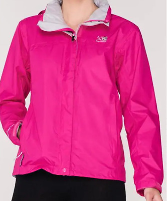 Karrimor Weathertite Coat Full Zip Juniors Girls Size UK 9-10 Yrs Pink *Ref120
