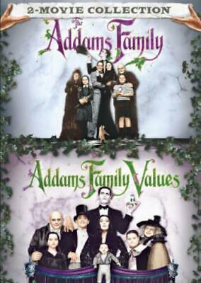 ADDAMS FAMILY / ADDAMS FAMILY VALUES (Region 1 DVD,US Import,sealed.)