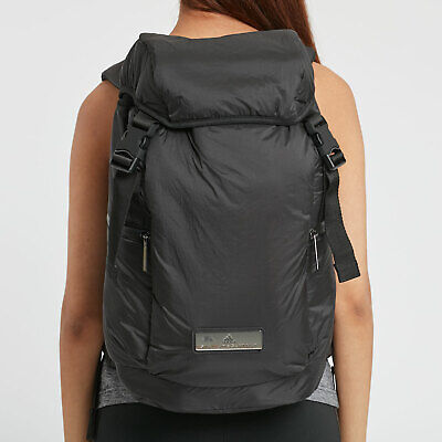 adidas X Stella McCartney Women's Backpack Gym Travel Work Weekend Laptop Black