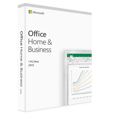 Microsoft Office home and business 2019 online activation key for Mac.