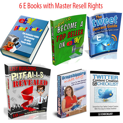 How to Become A Top  And Power Seller on Ebay EBook +5 Bonus Ebooks with MRR