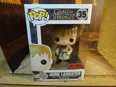 Funko Pop Game Of Thrones Jaime Lannister #35 - Hot Topic Pre-Release Exclusive