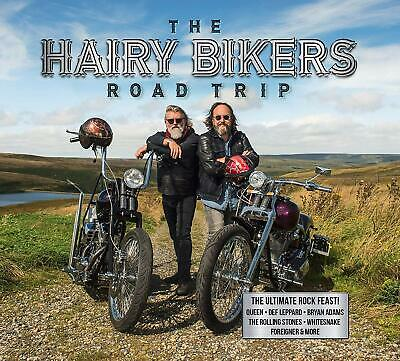 The Hairy Bikers Road Trip New 3 CD Box Set / Free Delivery Queen Def Leppard