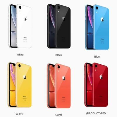 "APPLE iPhone XR - 6.1"" 64GB 128GB Unlocked SIM-FREE Smartphone A2105 - UK MODEL"