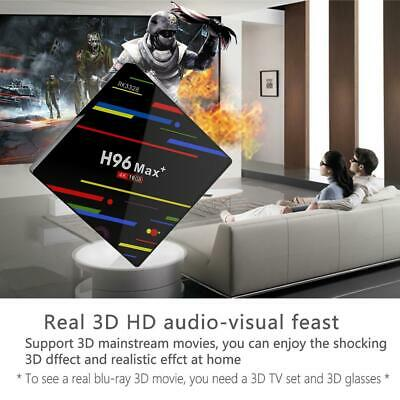 H96 MAX Plus+ Voice Control Android 8.1 4K Bluetooth4.0 Smart TV Box 32G 4G/64G