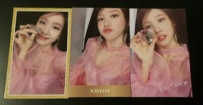 TWICE - Feel Special Official Photocard -  NAYEON #1,#2,#3
