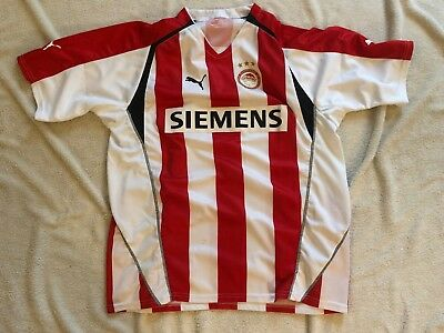 Maillot Olympiakos Shirt Jersey Football Ancien Vintage