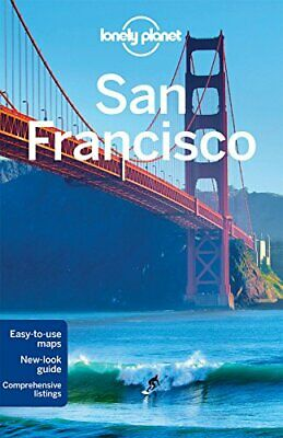 Lonely Planet San Francisco (Travel Guide) by Vlahides, John A Book The Cheap