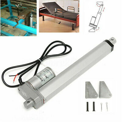 12/24V Linear Actuator Motor High Speed 30mm/s 200N 50-400mm Electric Lift