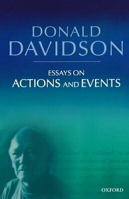 Essays on Actions and Events (Philosophical Ess... by Davidson, Donald Paperback