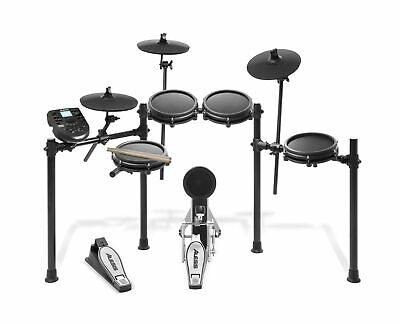Alesis Drums Nitro Mesh Kit | Eight Piece All-Mesh Electronic Drum Kit With S...