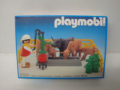 -New-Factory Sealed Playmobil Add On #6262 Barn Silo