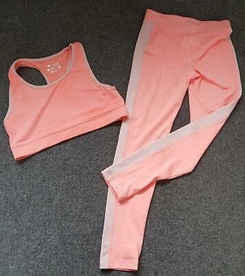 Girls Matalan Active Sportswear Outfit, Leggings & Vest Top,  10-11/12-13 Yrs