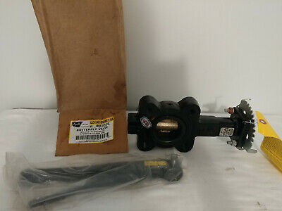 "Apollo Butterfly Valve 2""  LD14102BE11A w/ Handle"