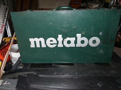 METABO KFM 15-10 F Portable Beveling Machine Box only