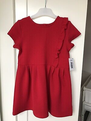BNWT Matalan Girls Red Christmas Party Dress  Age 2-3 NEW