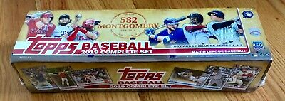 2019 Topps 582 Montgomery Club COMPLETE FULL SET #1-700 (700 CARDS) SERIES 1 & 2