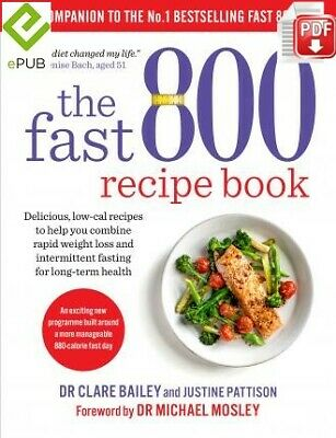 The Fast 800 Recipe Book by Michael Mosley [DIGITAL]