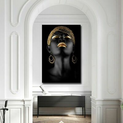 Fashion Modern Abstract Canvas Painting  Women Poster Home Art Decor Poster