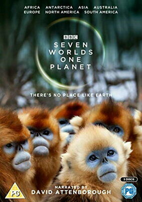 Seven Worlds, One Planet [New DVD]