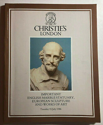 Christies London   Important english Marble Statuary, European Sculpture - 1986