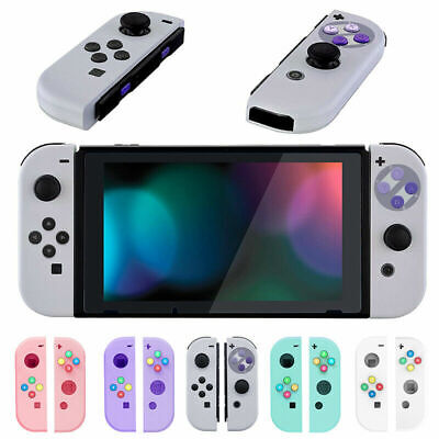 For Nintendo Switch DIY CASE Joy-Con Replacement Shell Handle Hard Travel  Cover