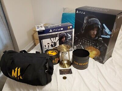 Death Stranding ps4 pro,& collectors edition, spawn#289, mortal kombat reveal.