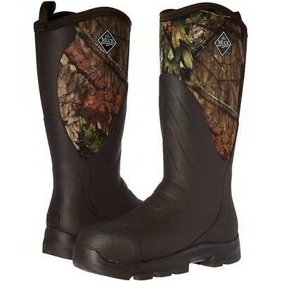 Muck Boots Woody Max Grit Mens Neoprene Wellington Camouflage Wellies Size 8-9