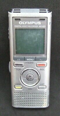 Olympus Digital Voice Recorder WS-821 Full Working Order Silver Colour