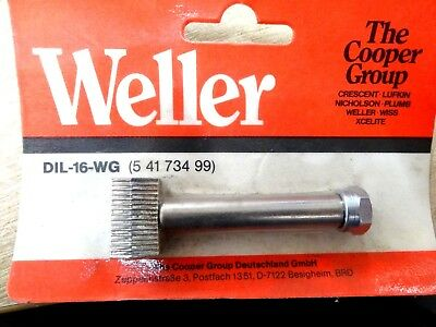 Weller DIL-16-WG de-soldering tip for 16 pin DIL ICs SWG for TCP & TCP-S Iron