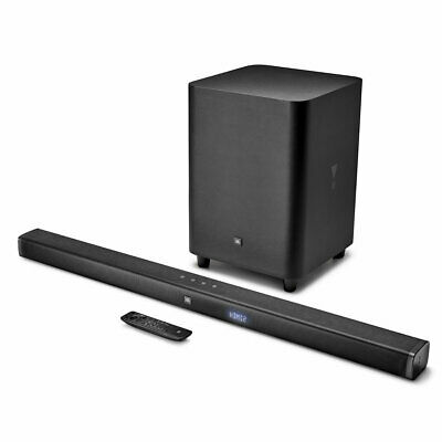 JBL Bar 3.1-Channel 4K Ultra HD Sound Bar with Wireless Subwoofer (Refurbished)