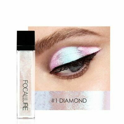 14 Colors Liquid Pigment Eyeshadow Light Waterproof Glitter Shimmer Highlighter