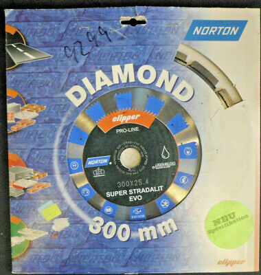 Norton Clipper Diamant Super Strandalit Evo 300x25, 4mm 701846222495