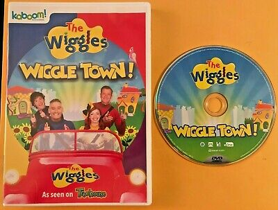 The Wiggles - Wiggle Town! Dvd Region 1 (Usa/Canada) Mint Oop 2016