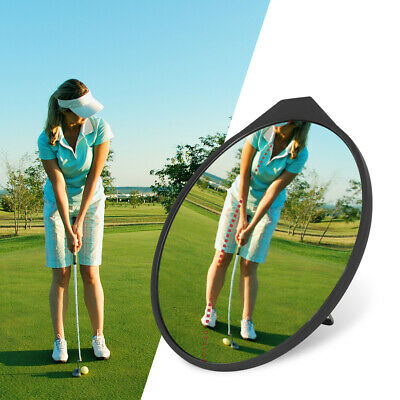Golf Putting Mirror Training Eyeline Alignment Practicing Trainer Aids Tool