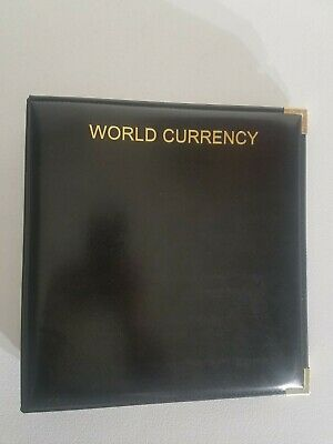 World Currency Album Collection of 16 Foreign Uncirculated and Certified Bills