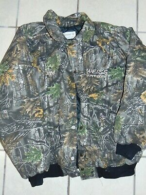 Clarkfield Outdoors Camouflage Hunting Jacket Mens XXL Quilted
