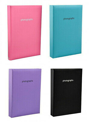 "4x6"" Large Slip In Memo Photo Album Hold 300 Photos in 4 Colour Ideal For Gift"