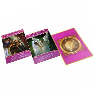 44pcs Romance Angel Oracle Cards Tarot Cards Game Card Set Gift 101 * 74mm
