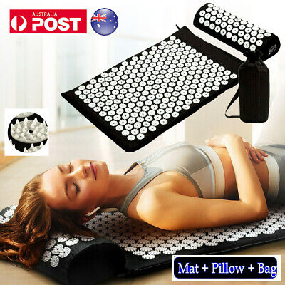 Acupressure Massage Yoga Mat for Natural Relief of Stress-Pain-Tension AU