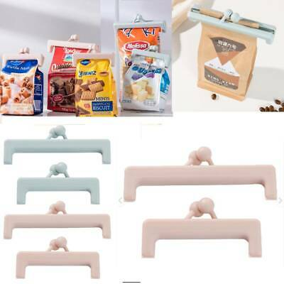 2pc Portable Kitchen Food Bag Sealing Clips Household Snack Storage Sealer Clamp