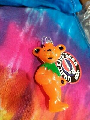 Grateful Dead Pink Dancing Bear 3 Inch Christmas Ornament