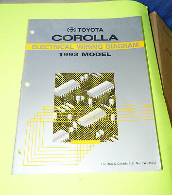 Toyota T100 Repair Manual Service Book Electrical Wiring Diagram 1993 69 99 Picclick