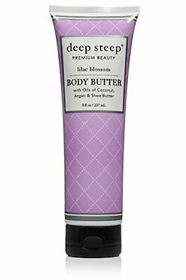 Deep steep Classic Body Mantequilla, Lilac Blossom, 8 Fluid Ounce