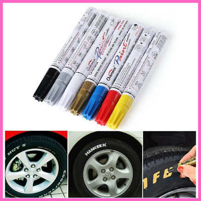 Pen Car Tyre Styling Colorful Waterproof Paint Markers Graffiti Oily Tire Marker