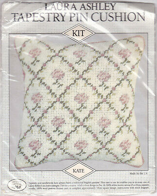 Laura Ashley Tapestry Kate Pin Cushion Kit. Paterna Persion Yarn