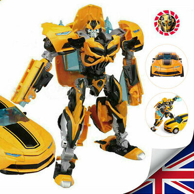 Kid Transformers Toy Bumblebee Action Figure Vehicle Human Alliance 18CM Tall UK