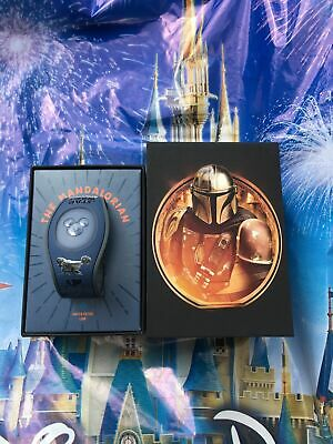 Disney Parks Star Wars The Mandalorian LE1500 Magic Band 2 Unlinked New IN HAND