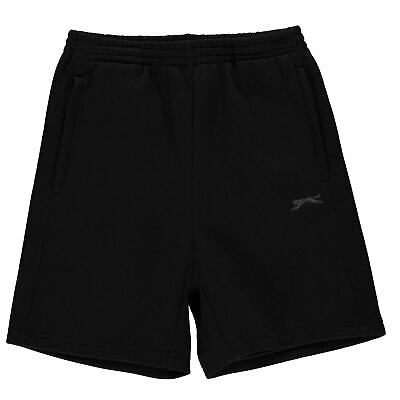 Slazenger Fleece Shorts Youngster Boys Pants Trousers Bottoms Drawstring